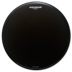 Aquarian Response 2 10'' Coated Drum Head - Black