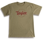 Taylor Guitars T-Shirt - Prairie Dust, Medium