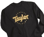 Taylor Guitars Long Sleeve T-Shirt - Black, Large