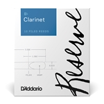 D'Addario Reserve Bb Clarinet Reeds - 3 Strength - Box of 10