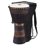 "Meinl African Style Rope Tuned 13"" Wood Djembe with Bag"