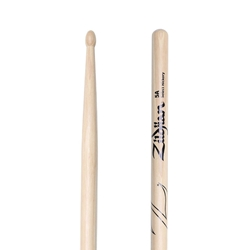 Zildjian Natural Hickory 5A Drumsticks - Wood Tip