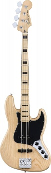 Fender Deluxe Active Jazz Bass - Natural, Maple Fretboard