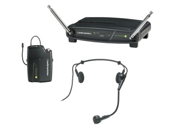 Audio Technica ATW-901/H System 9 Wireless Headset Microphone System