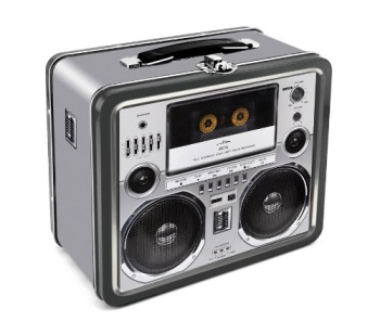 Boombox Lunch Box