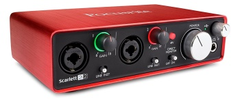 Focusrite Scarlett 2i2 (2nd Gen) USB Audio Interface with Pro Tools