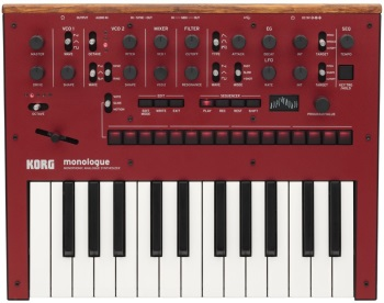 Korg Monologue 25-Key Monophonic Synth - Red