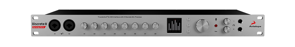 Antelope Discrete 8 Synergy Core Front Panel