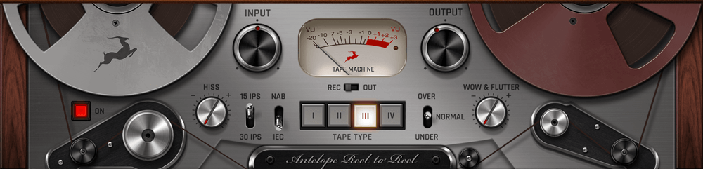 Reel to Reel Tape Machine Plugin