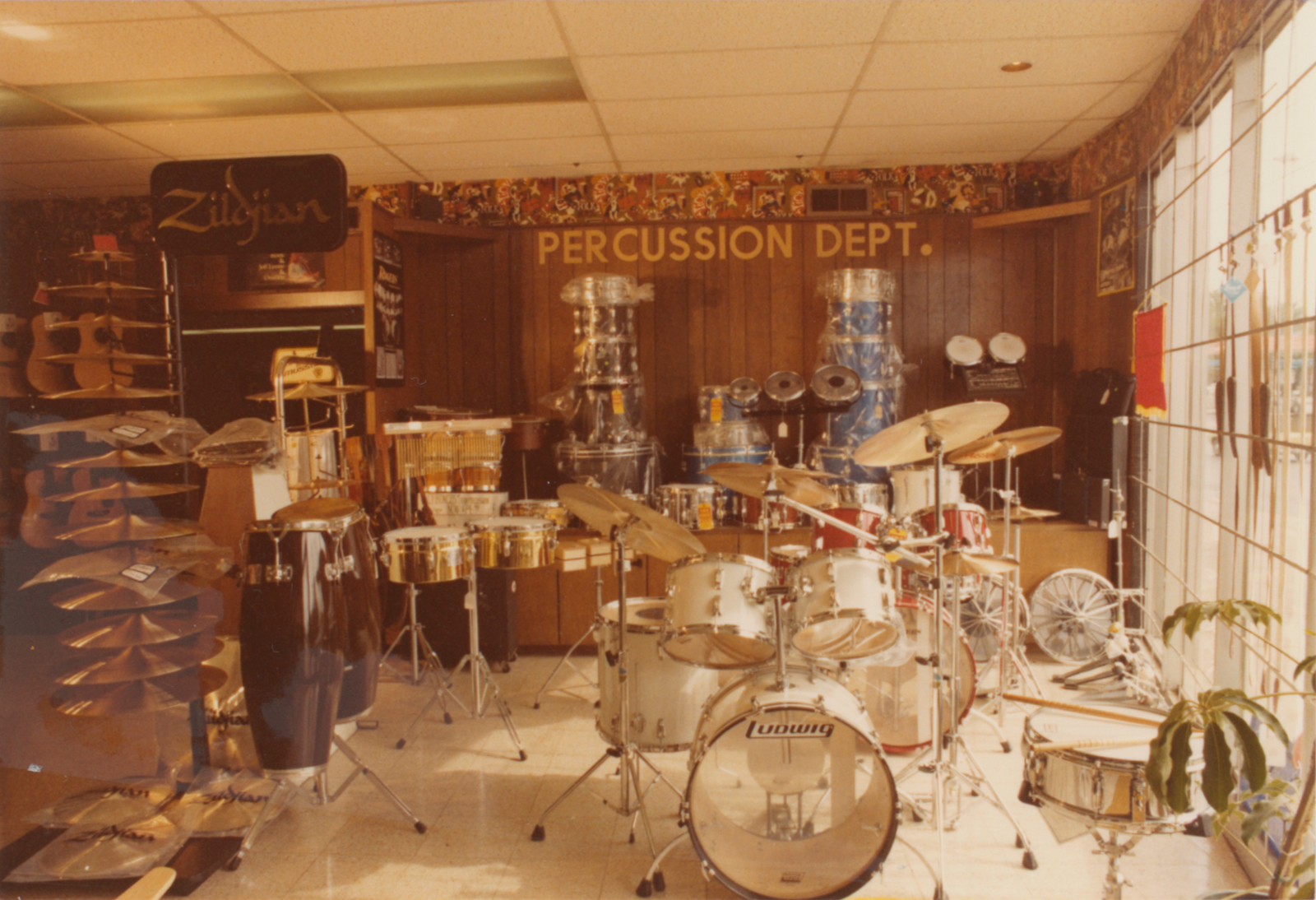 Strait Music Expansion Storefront Drums