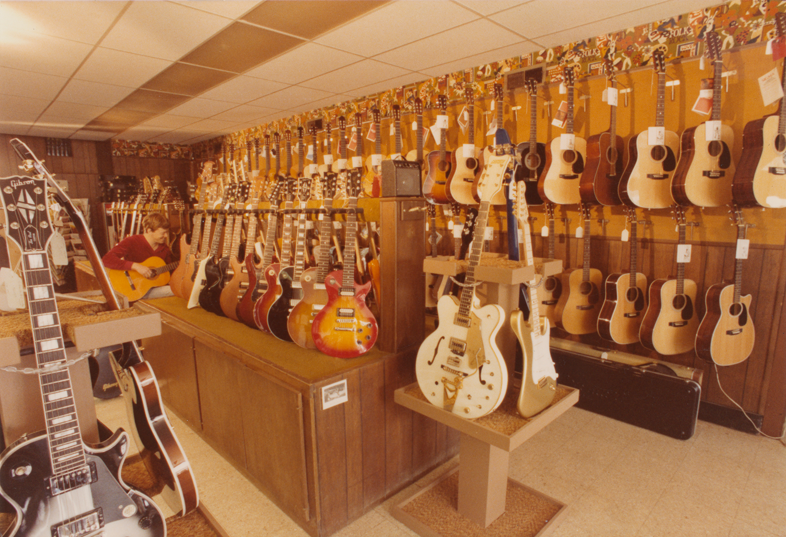 Strait Music Expansion Storefront Guitars