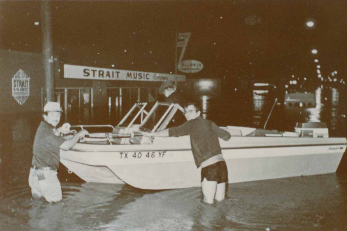 Strait Music Flood Boat