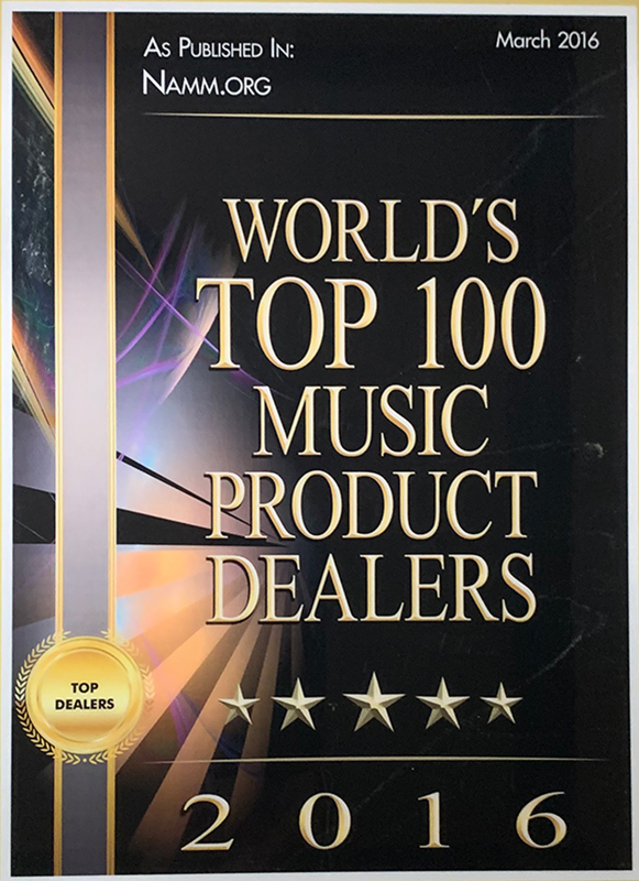 Top 100 Music Dealers Strait Music Company