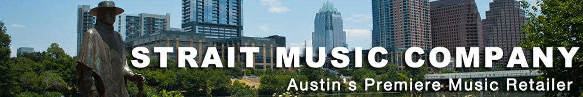Welcome to Strait Music Co Austin TX