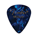 351 Shape Premium Picks, Medium, Blue Moto, 12 Count