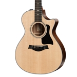 Taylor 312ce Cutaway Sapele Grand Concert Acoustic-Electric Guitar
