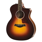 Taylor 214ce-SB DLX Acoustic-Electric Guitar Sunburst