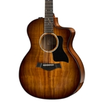 Taylor 224ce-K Deluxe Koa Grand Auditorium - Shaded Edgeburst