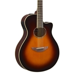 Yamaha APX600 Thin Body Acoustic-Electric Guitar - Old Violin Sunburst