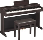 Yamaha YDP163R Arius Series Console Digital Piano with Bench - Rosewood