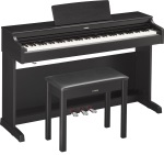Yamaha YDP163B Arius Series Console Digital Piano with Bench - Black