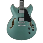Ibanez AS73OLM Artcore Semi-Hollow Body - Olive Metallic