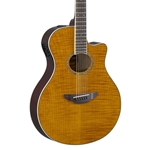 Yamaha APX600FM Acoustic-Electric Guitar -  Amber, Rosewood Fretboard