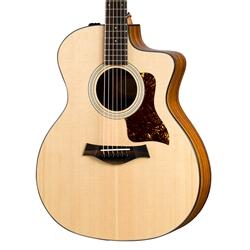 taylor 114ce grand auditorium cutaway acoustic electric guitar. Black Bedroom Furniture Sets. Home Design Ideas