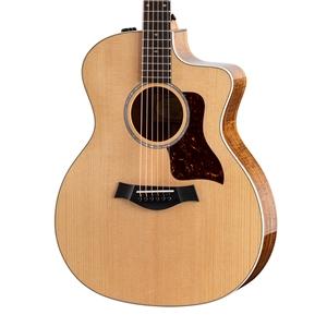 Taylor 214ce-K Koa Deluxe Acoustic-Electric Guitar - Natural