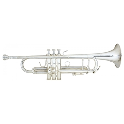 B&S 3137 Challenger I Bb Silver Trumpet