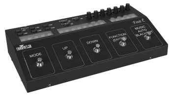 Chauvet Lighting FOOTC DJ DMX Footswitch Stage Lighting Controller  sc 1 st  Strait Music : stage lighting dmx - www.canuckmediamonitor.org
