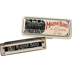 Hohner 1896 Marine Band Harmonica - Key of C