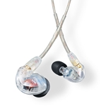 Shure SE425-CL Professional Dual-Driver Sound Isolating Earphones - Clear