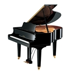 Yamaha DGB1K ENCL Enspire CL 5' Disklavier Digital Grand Piano - Polished Ebony