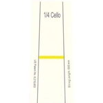 Don't Fret - Cello 1/4 (First Frets)