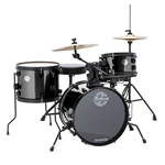 Ludwig/Questlove The Pocket Kit 4-Piece Drum Set - Black Sparkle