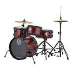 Ludwig/Questlove The Pocket Kit 4-Piece Drum Set - Wine Red Sparkle