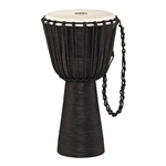 Meinl Headliner Rope Tuned Wood Djembe - Black River Series 13in Black