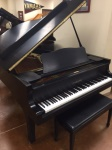 "1978 Yamaha C5 6'7"" Grand Piano - Ebony"