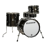 Ludwig/Questlove Breakbeats 4-Piece Shell Pack - Black Sparkle
