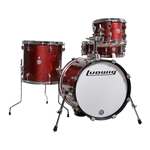 Ludwig/Questlove Breakbeats 4-Piece Shell Pack - Wine Red Sparkle