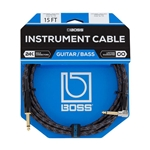Boss BIC-15A Straight/Angled Instrument Cable