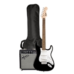 Squier Stratocaster Pack - Black with Amp