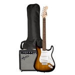 Squier Strat Pack - Brown Sunburst