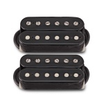Bare Knuckle True Grit Humbucker 6 String Open Pickup Set - Black
