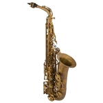 Eastman EAS652 Alto Saxophone, Aged Unlacquered Finish