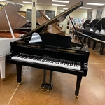 "1996 Yamaha C3 6'1"" Grand Piano - Polished Ebony"