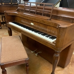 1967 Wurlitzer Spinet French Provincial - Walnut