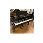 1987 Yamaha C3 Grand Piano - Polished Ebony