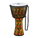 Meinl Rope Tuned Travel Series Djembe - Synthetic Head 2in Simbra